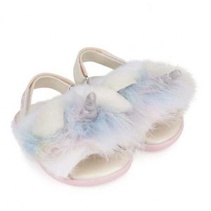 Ugg Baby Girls Rainbow Unicorn Sandals
